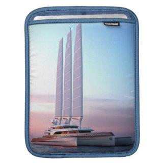 Super trimaran yacht iPad sleeve