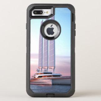 Super trimaran yacht OtterBox defender iPhone 8 plus/7 plus case
