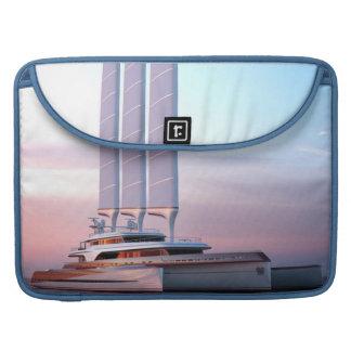 Super trimaran yacht sleeve for MacBook pro