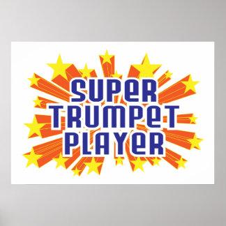 Super Trumpet Player Print