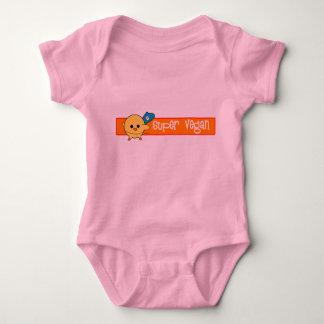 Super Vegan Soy Wonder Baby Baby Bodysuit