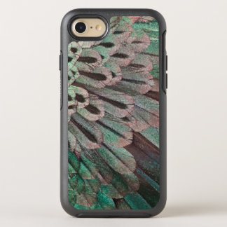 Superb Bird of Paradise feathers OtterBox Symmetry iPhone 8/7 Case