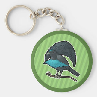Superb Bird-of-Paradise Key Ring