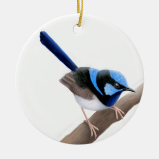 Superb Fairy Wren Ornament