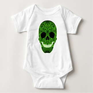 Superb Sugar Skull Dia De Los Muertos Day of the D Baby Bodysuit