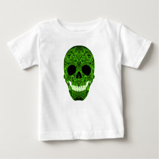 Superb Sugar Skull Dia De Los Muertos Day of the D Baby T-Shirt