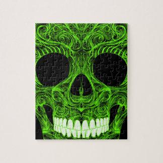 Superb Sugar Skull Dia De Los Muertos Day of the D Jigsaw Puzzle