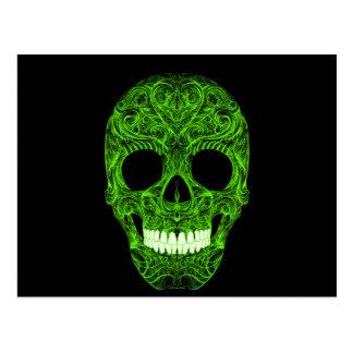 Superb Sugar Skull Dia De Los Muertos Day of the D Postcard
