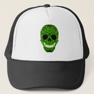 Superb Sugar Skull Dia De Los Muertos Day of the D Trucker Hat