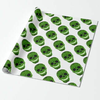 Superb Sugar Skull Dia De Los Muertos Day of the D Wrapping Paper