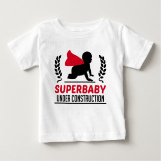superbaby under construction baby T-Shirt