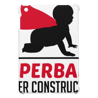 superbaby under construction iPad mini cases
