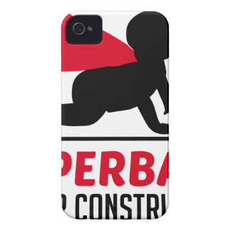 superbaby under construction iPhone 4 cover