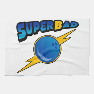 Superbad bowling team towel