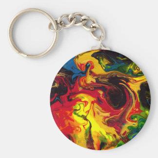 Superball Key Ring