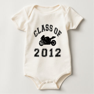 Superbike - Black Baby Bodysuit