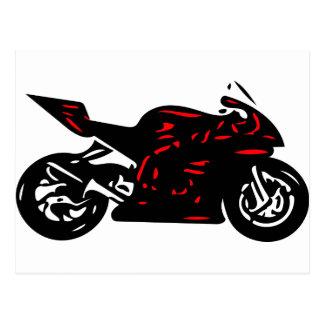 Superbike Postcard