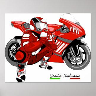 superbike poster