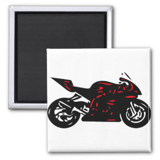 Superbike Square Magnet