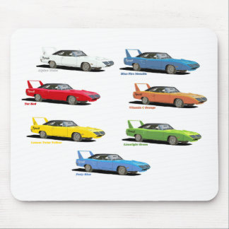Superbird Colors Mouse Pad