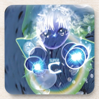 SuperCelu Healing Energy For Kids! Coaster