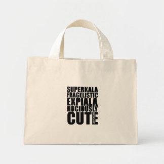 SUPERCUTE! Baggiepoo[: Mini Tote Bag