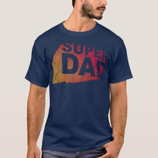 SuperDad 3D Fire Pattern T-Shirt