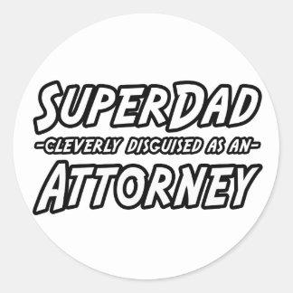SuperDad...Attorney Stickers