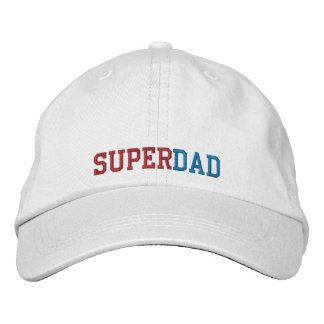 Superdad Embroidered Cap