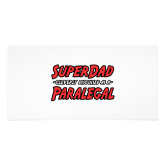 SuperDad...Paralegal Picture Card