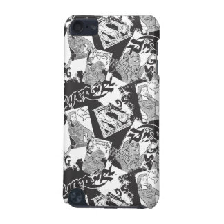 Supergirl Black and White Collage 2 iPod Touch (5th Generation) Case