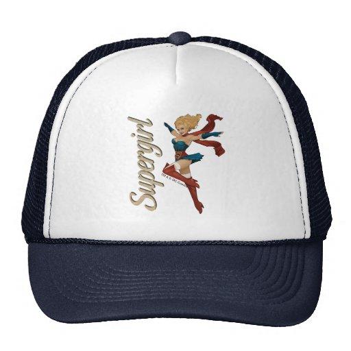 Supergirl Bombshell Mesh Hat