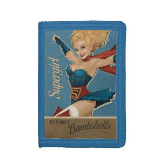 Supergirl Bombshell Trifold Wallet