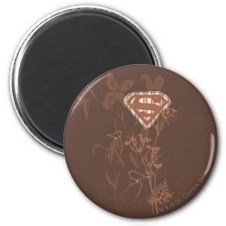 Supergirl Brown Bird Magnet