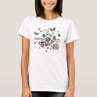 Supergirl Butterflies T-Shirt
