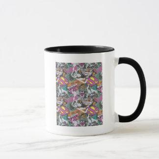 Supergirl Comic Capers Pattern 10 Mug