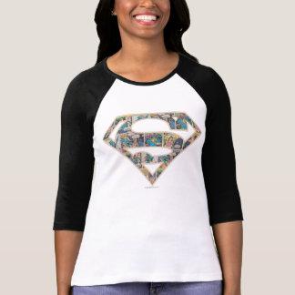 Supergirl Comic Strip Logo T-Shirt