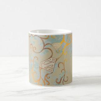 Supergirl Gold and Brown Coffee Mug