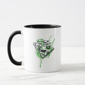 Supergirl Green Spills Mug