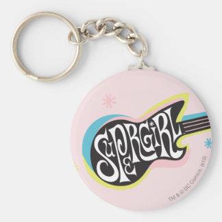 Supergirl Guitar Key Ring