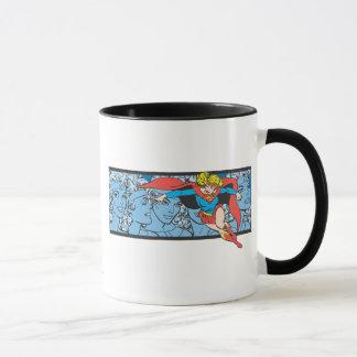 Supergirl Head Shots Mug