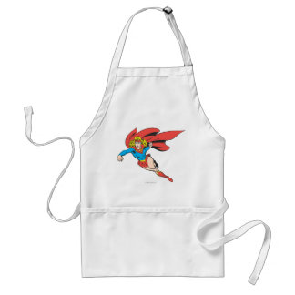 Supergirl Leaps and Punches Standard Apron