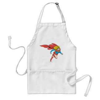Supergirl Leaps Right Aprons