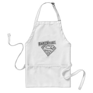 Supergirl Logo 1 Standard Apron