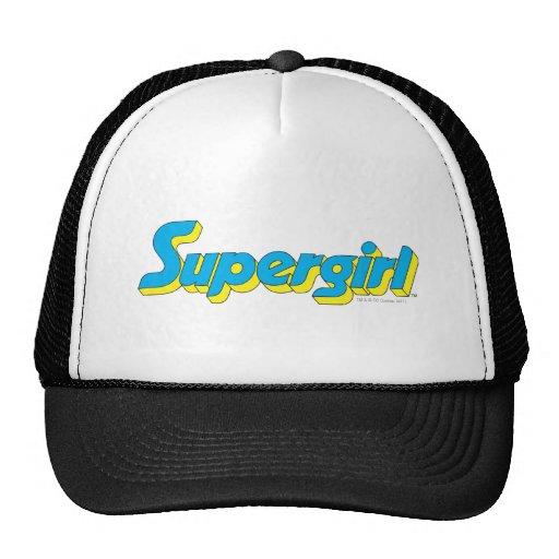 Supergirl Logo Trucker Hat