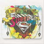 Supergirl Logo The Lux Mouse Pad