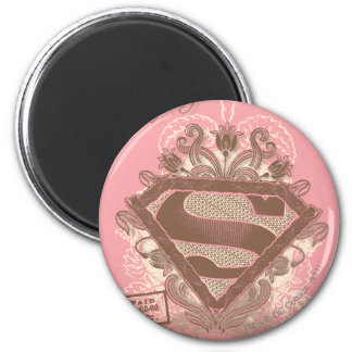 Supergirl Metropolis Ballet Pink Magnet