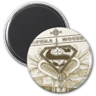 Supergirl Opera House Magnet
