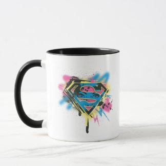 Supergirl Paint and Spills Mug
