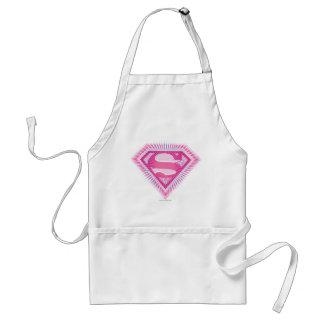 Supergirl Pink Logo Standard Apron
